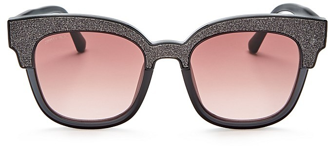 Jimmy Choo Jimmy Choo Mayela Square Sunglasses, 50mm