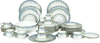 One Kings Lane Vintage Limoges Tiffany & Co. Dinner Set - Svc 8 - La Maison Supreme