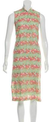Paul & Joe Sleeveless Floral Print Dress