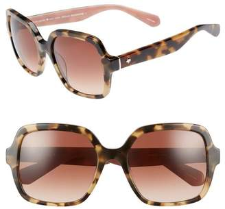 Kate Spade Katelee 54mm Sunglasses