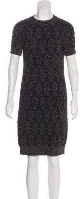 Lanvin Metallic Damask Dress