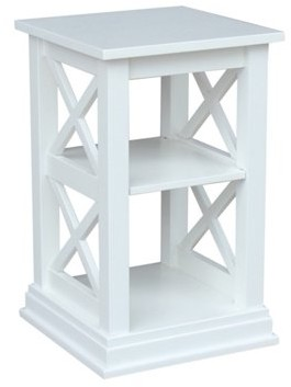 INC International Concepts International Concepts Hampton Accent Table with Shelves