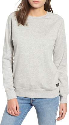 Obey Comfy Creatures Cotton Blend Crewneck Sweatshirt