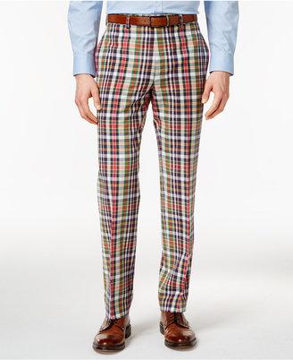Lauren Ralph Lauren Men's Madras Plaid Cotton Dress Pants $125 thestylecure.com