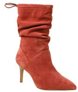 Kensie Natthan Suede Mid-Calf Boots