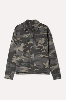 ATM Anthony Thomas Melillo Camouflage-print Stretch-cotton Twill Jacket - Army green