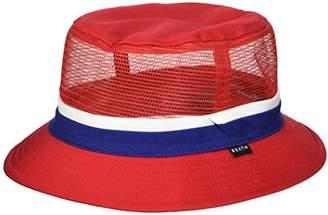 Brixton Men's Hardy Short Brim Mesh Bucket Hat