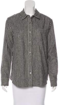 Jenni Kayne Striped Button-Up Top