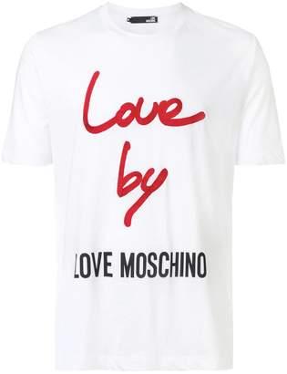 Love Moschino Love By T-shirt