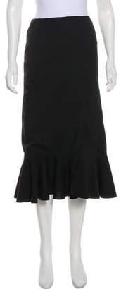 Altuzarra Pleated Midi Skirt