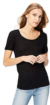 Daily Ritual Women's Super Soft Modal Semi-Sheer Pocket T-Shirt