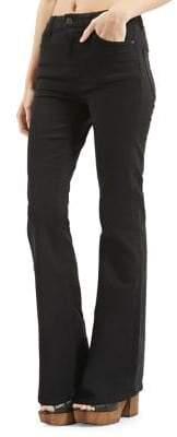 Topshop MOTO 30-Inch Leg Flared Jamie Jeans