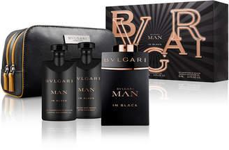 Bvlgari Man In Black Eau de Parfum 4-Pc. Gift Set