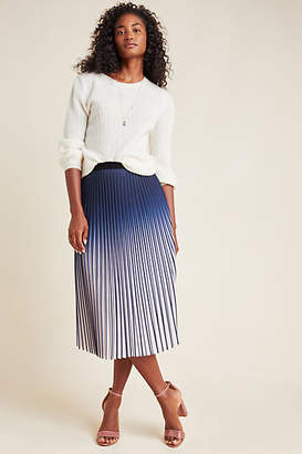 Seen Worn Kept Jia Pleated Ombre Maxi Skirt