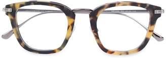Tom Ford round tortoiseshell glasses