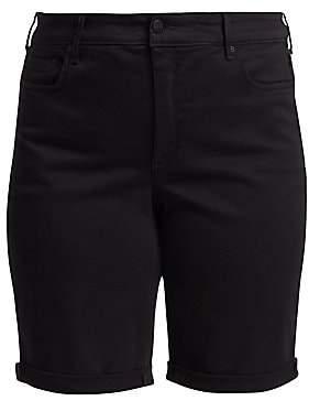 603751595fa NYDJ NYDJ, Plus Size Women's Briella Roll Cuff Denim Shorts