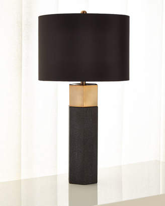 Jamie Young Shagreen Table Lamp with Shade