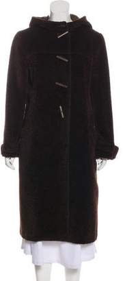 Agnona Alpaca and Wool Coat