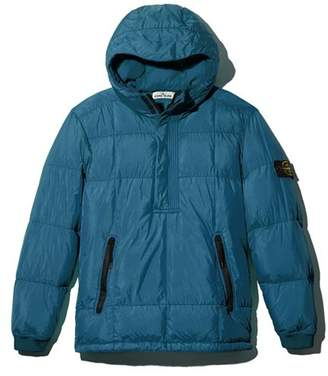 Stone Island Hooded Pullover Down Coat - 100% Exclusive