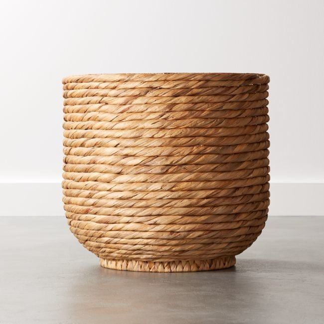 Cb2 Coil Natural Palm Basket