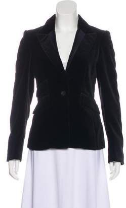 3.1 Phillip Lim Fitted Velvet Blazer
