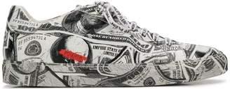 Philipp Plein Dollar low-top sneakers