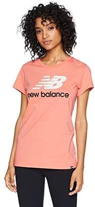 New Balance Women's Crew Neck Short Sleeve T-Shirt (Manufacturer Size:)
