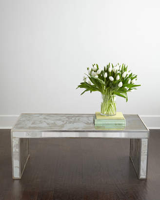 Horchow Duval Mirrored Coffee Table
