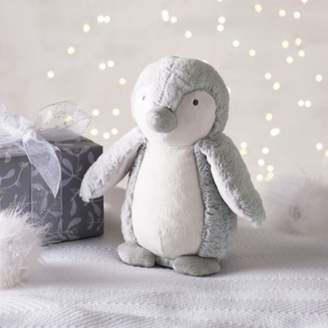 The White Company Snowy Penguin Medium Soft Toy, Grey, One Size