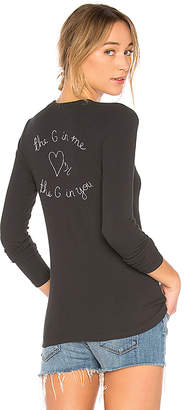 Spiritual Gangster Heart Patch Apres Long Sleeve