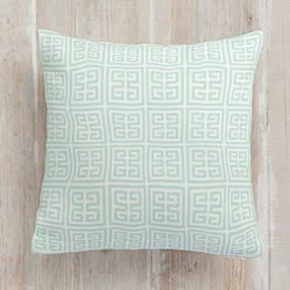retro geo Square Pillow