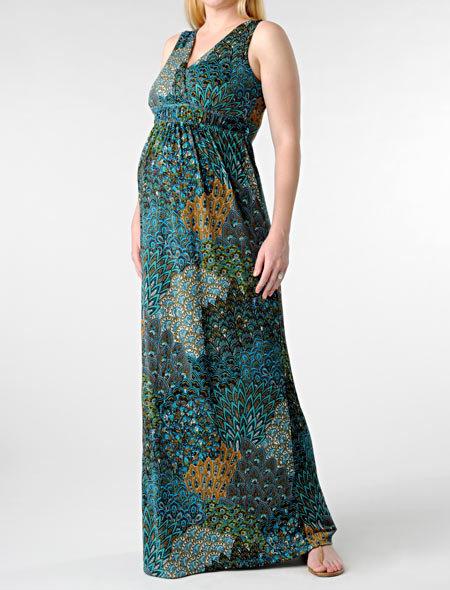 Apeainthepod Sleeveless Babydoll Maternity Dress