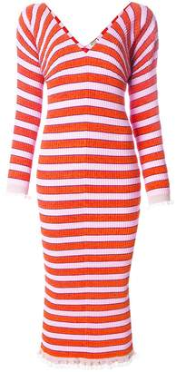 Kenzo striped sweater dress