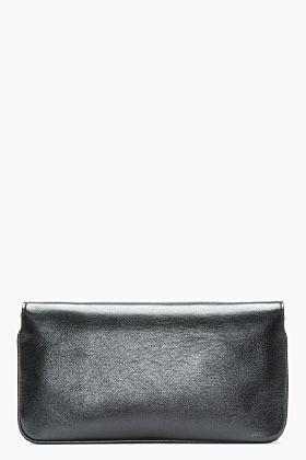 Marc Jacobs Black Leather Prince Flight The Handy Shoulder Bag