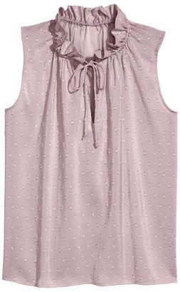 H&M Sleeveless Top - Purple