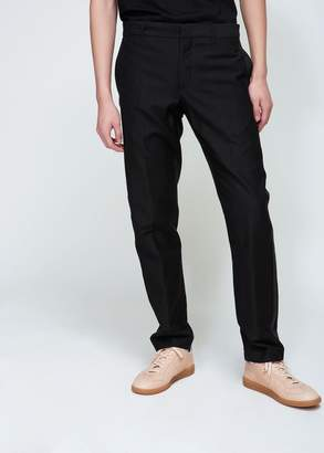 Ann Demeulemeester Summerwool Ribbon Pleater Trouser