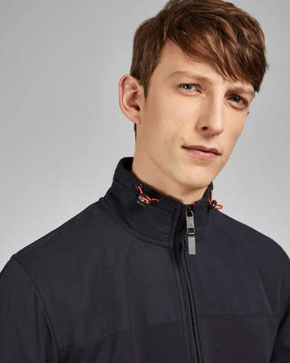 Ted Baker DENSE Long sleeved funnel neck jacket