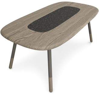 "Huppé Koval 78"" Table with Stone"