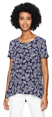Anne Klein Women's HIGH-Low TEE
