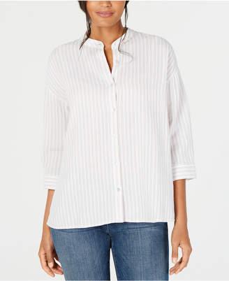e6a4c1a8c406d1 Eileen Fisher Organic Cotton Shirt, Regular & Petite