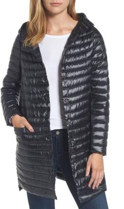 Women's Sam Edelman Reversible Down & Feather Fill Puffer Jacket