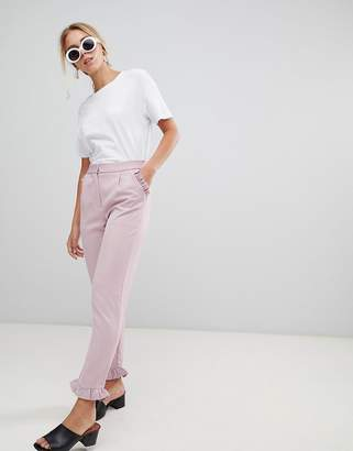 Glamorous Frill Detail Trousers
