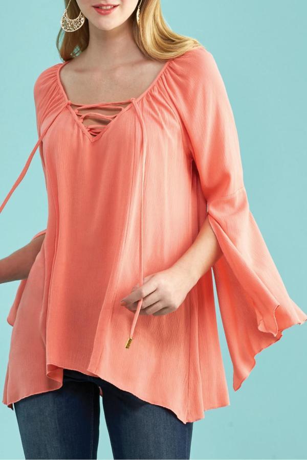 Kay Celine Bell Sleeve Top