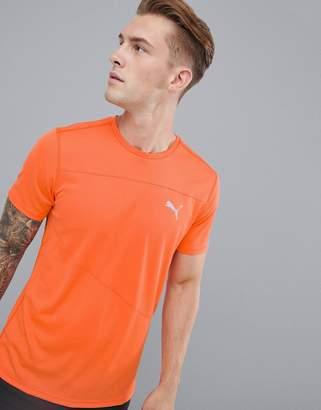 Puma Mono T-Shirt In Orange 517242-04