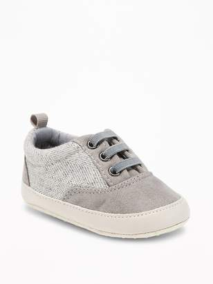 Old Navy Sueded Low-Top Sneakers for Baby