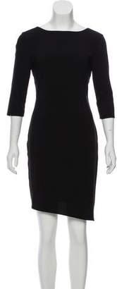 Alexander Wang Gathered Asymmetrical Dress