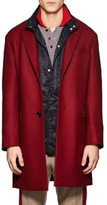 Lanvin Men's Virgin Wool Twill Topcoat