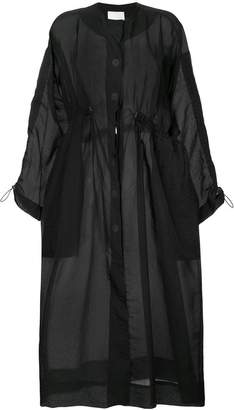 CHRISTOPHER ESBER oversized single breasted coat