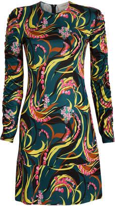 La DoubleJ Tinder Windy Floral Mini Dress