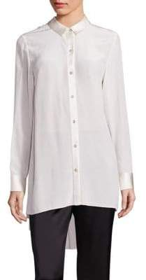 Eileen Fisher Silk Crepe Tunic